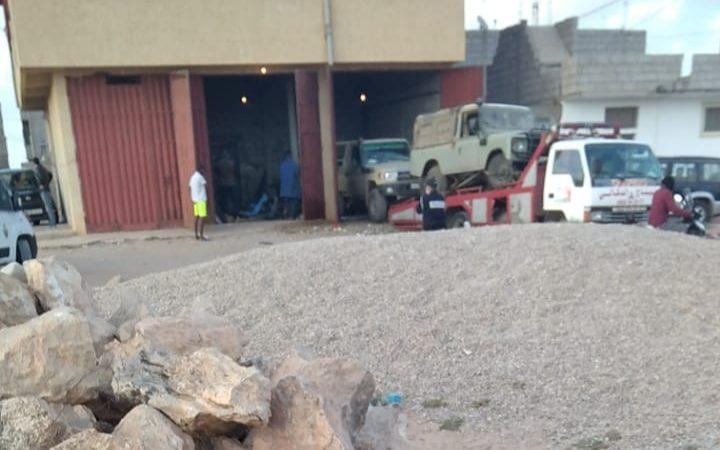 صيد ثمين بطانطان بنقدية صيد و مسدس و سيارات و زوارق مطاطية و مخدرات