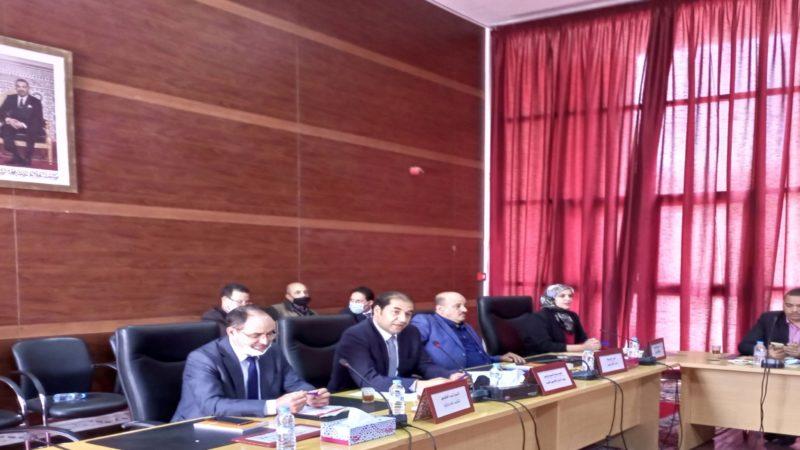 المجلس الإقليمي بگلميم ينتخب رؤساء اللجن